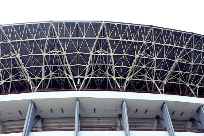 Atapnya..gak kebayang proses pembangunannya.