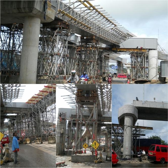 jembatan layang persimpangan pelabuhan merak Empat tahun lalu