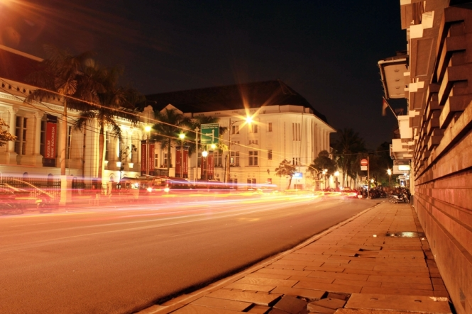 Depan Museum Bank Indonesia